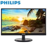 【行货保证】飞利浦(PHILIPS)226V6QSB6 21.5英寸AH-IPS面板细窄边框电脑液晶显示器不闪IPS硬屏双接口!TN屏的价格换IPS屏的实