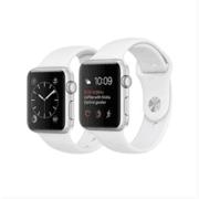 【apple授权专卖】WATCH SerieS2 42mm(MQ192)银搭白金白