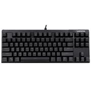 Lenovo/联想MK100游戏机械键盘 有线黑轴青轴 LOL CF机械键盘 包邮(单键盘 无鼠标)