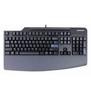 联想 USB标准台式机有线键盘带可拆掌托0A36411 包邮