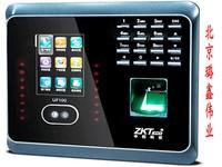 ZKTeco中控智慧UF100PLUS人脸识别考勤机 面部指纹混合识别打卡机