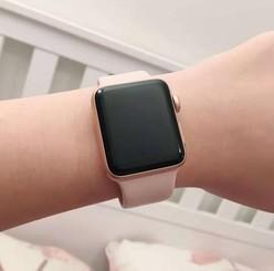 iwatch3配合iphone运动简直完美