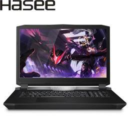 神舟 战神GX8-CP5S1 GTX1070 8G独显 17.3英寸游戏笔记本电脑