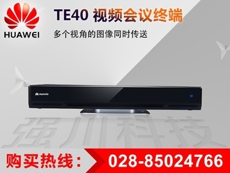 华为 TE40-C-720P 远程高清视频会议-多点支持 选配VPC600+VPM220