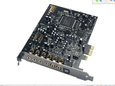 创新A5 Audigy 5 SB1550 PCI-E接口 双麦克输入 K歌内置7.1声卡【全新套装、全国包邮】