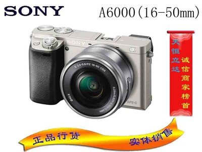 索尼(SONY)a6000/ILCE-6000L(16-50/50 F1.8)