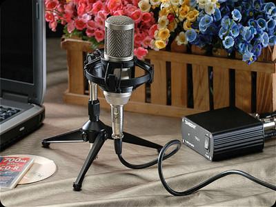得胜 PC-K300 电容麦克风话筒套装 电脑网络K歌录音