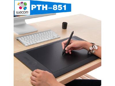 (Wacom) PTH-851/K0-F Intuos Pro PTL 手写板、数位板支持手势平移、缩放和导航操作,附带创建和访问自己的多点触控快捷键功能