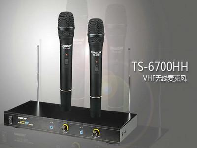 得胜 TS-6700HH 专卖店 Takstar/得胜TS-6700HH VHF 无线麦克风 手持 演出包邮
