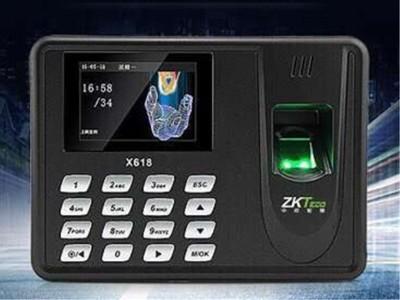 KTeco中控智慧X618指纹式考勤机 指纹识别打卡机 签到机免软件 *联保 双U高速下载