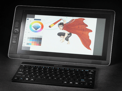 Wacom 新帝DTH-W1310H/K1-F(512GB)WACOM设计工作站 图形工作站 WACOM平板电脑 汽车造型设计 动漫设计 影视设计 插画师设计