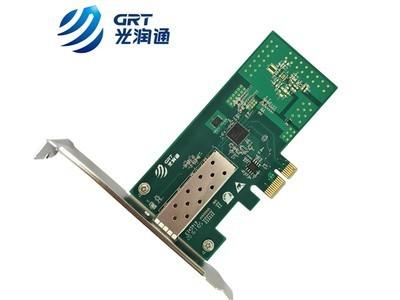 单口千兆光纤网卡F901E-V3.0 Intel i350芯片 光纤到桌面网卡