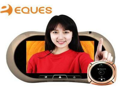 移康电子智能家居可视门铃电子猫眼门镜监控报警防盗摄像头侦测远程手机家用红外摄像头R12B
