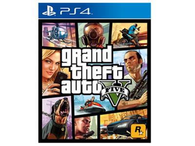 PS4 正版 GTA5 侠盗飞车5 中文版 现货即发 *包邮