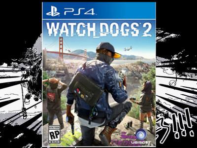 正版 PS4游戏 监听风暴2 看门狗2 WATCH DOGS 2中文版 现货