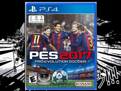 正版PS4游戏 PES实况17 实况足球2017 中文版