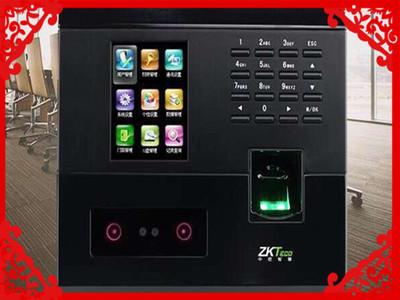 ZKTeco中控智慧考勤机UF200 人脸指纹混合识别打卡机上班签到机 新品特惠 人脸+指纹 +密码