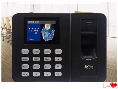 ZKTeco中控智慧考勤机ZK3960 指纹式打卡机 上班签到指纹识别升级  自助报表 免软