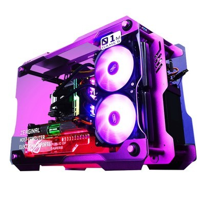 甲骨龙GL01 Intel九代i7 9700K GTX1660TI 6G独显256G M.2固态硬盘  海盗船8G 3000HZ内存 台式组装电脑 台式主机 游戏主机