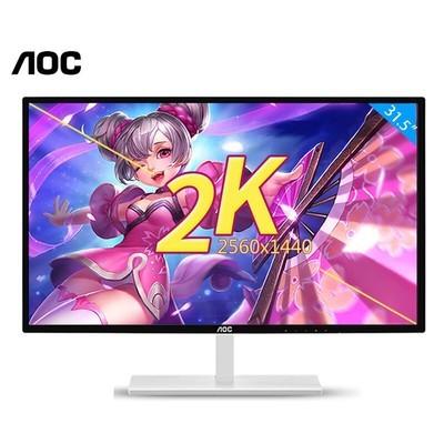 AOC显示器32英寸2k液晶显示器Q3279VWF/WS 31.5英寸 台式电脑高清HDMI