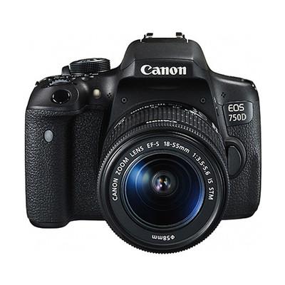 Canon佳能 750D套机EF-S 18-55mm f/3.5-5.6 IS STM镜头