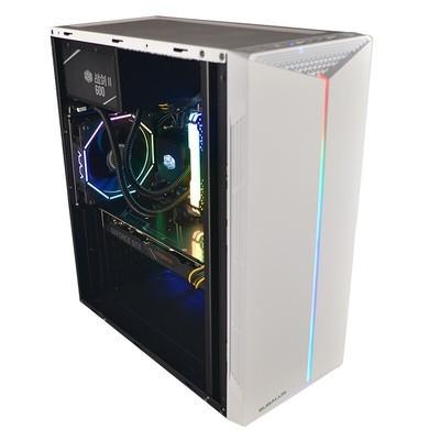 甲骨龙电脑主机 酷睿i3 9100/GTX1650 4G独显240G固态硬盘 DIY组装机
