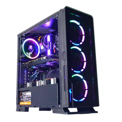 甲骨龙 九代i5 9600K/GTX1060/1066TI/16G内存 480G固态DIY电脑主机