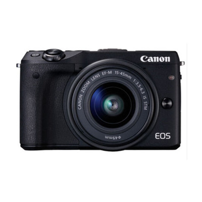 佳能(Canon)EOS M3(EF-M 15-45mm f/3.5-6.3 IS STM)微型单电套机