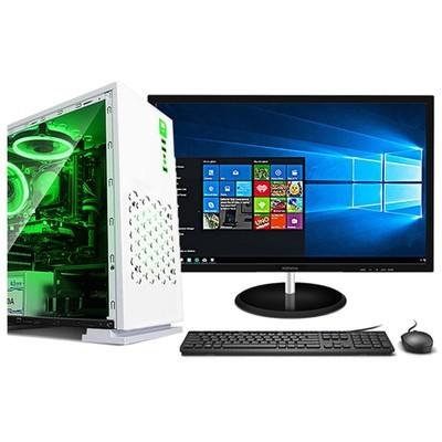 甲骨龙G5400四核心 H310主板8GB内存赠康佳21.5显示器 DIY台式电脑主机 台式整机 办公台式电脑