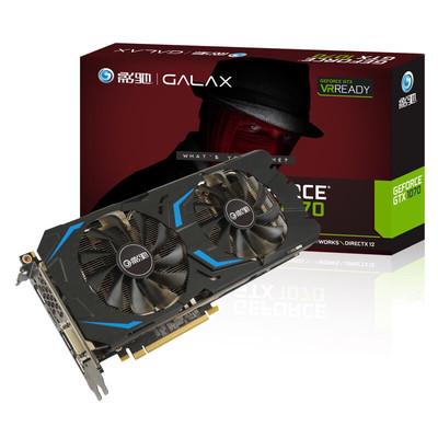 影驰 GeForce GTX 1070大将VR游戏独立显卡24W撸分 信仰灯包邮