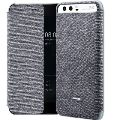 【包邮】华为P10原装手机壳智能休眠保护套开窗皮套华为P10plus