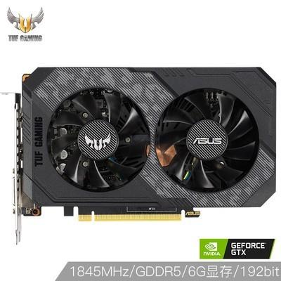 华硕 (ASUS) TUF-GeForce GTX1660-O6G-GAMING OC 530-1845MHz 8002