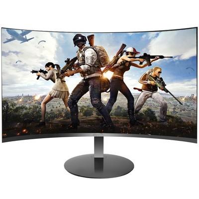 微软之星(MicroStar)Q24W 23.6英寸VA广视角不闪屏2500R曲面纤薄微边显示器(HDMI/VGA接口)