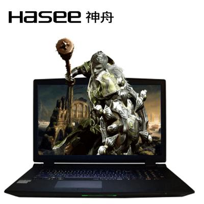 【顺丰包邮】神舟 战神GX8-GL7S1  17.3英寸游戏笔记本电脑 i7-6700K 32G DDR4 512G SSD GTX980M 8G独显 1080P
