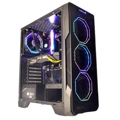 甲骨龙AMD锐龙R5 3500X/RX580 8G/独显16G内存DIY组装机台式组装电脑