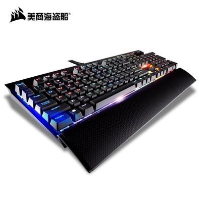 美商海盗船K95 RGB机械键盘樱桃CHERRY MX红轴游戏键盘