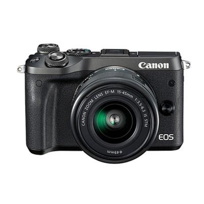 佳能(Canon)EOS M6微单 微型可换镜数码相机EF-M 18-150mm镜头 套机