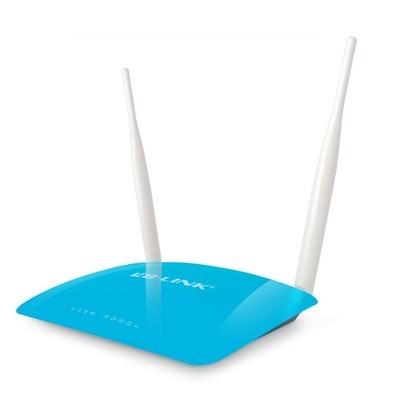 B-LINK必联 BL-855R 300M无线路由器穿墙王安全wifi发射L2TP家用上网