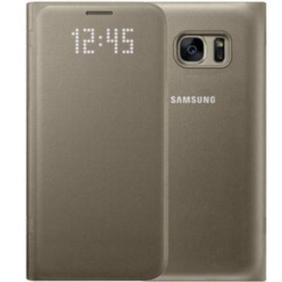 三星(SAMSUNG)三星S7edge手机壳LED保护套智能手机保护皮套