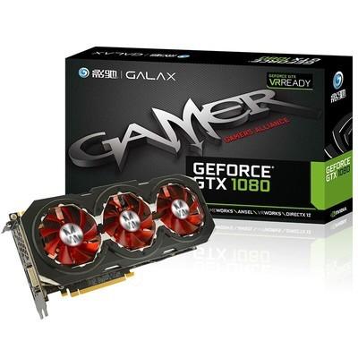 影驰(Galaxy)GTX 1080 GAMER 游戏显卡8G台式电脑独立显卡非吃鸡显卡