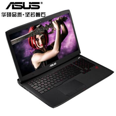 【顺丰包邮】华硕 GFX71JY4860 玩家国度 17.3英寸游戏本 酷睿i7-4860H 32G 512G固态+2TB GTX980M-4G发烧级双显卡 强劲图形处理