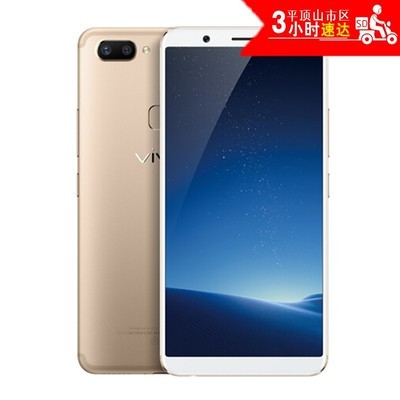 vivo X20 Plus 全面屏 全网通 4G+64G 移动联通电信4G手机 双卡双待