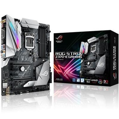 华硕 ROG STRIX Z370-E GAMING台机游戏电脑主板 音效雷达电竟游戏主板  CPU支持1151针