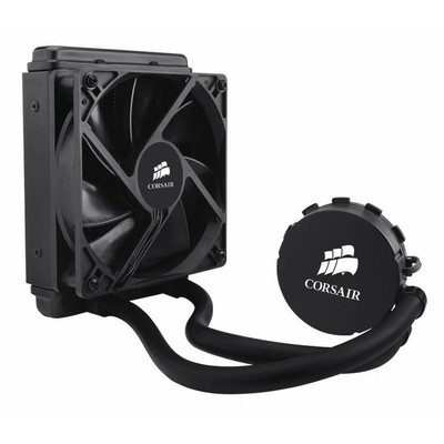 【包邮】美商海盗船H55电脑台式机CPU单排一体式水冷散热器静音