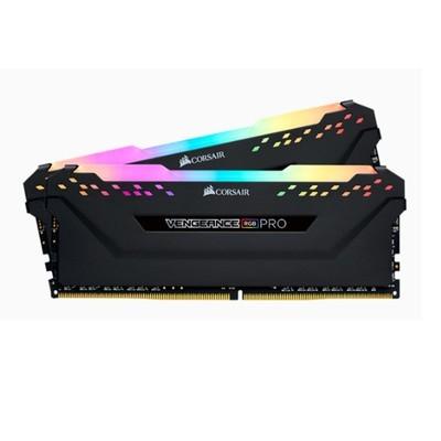 美商海盗船(USCORSAIR)16G(8G*2) DDR4 3200Hz RGB PRO台式机内存