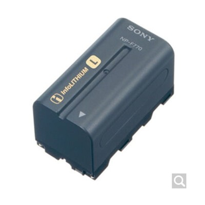 索尼(SONY) 原装NP-F970 锂电池 适用索尼专业摄像机 索尼F970