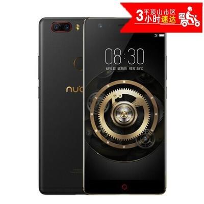 努比亚nubia Z17  黑金 8GB+128GB全网通 2300万+1200万 无边框 防水