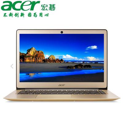 【官方授权 顺丰包邮】Acer SF314-51-55T8  14英寸时尚轻薄本 i5-7200U 8GB内存 256GB高速固态 1920X1080高清屏 预装Windows 10