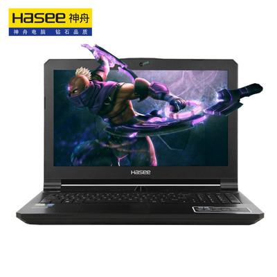 神舟 战神Z7-SL7D3 15.6英寸游戏本笔记本电脑(i7-6700HQ 8G 1T+128G SSD GTX970M 3G独显 1080P)黑色 三风扇五铜管!你值得拥有!