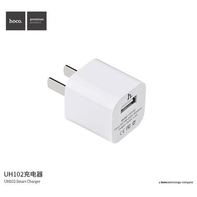 浩酷 UH102手机充电器 苹果三星小米USB充电头通用充电器